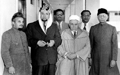 الشيخ محمد  البشير الإبراهيمي في باكستان سنة 1952 أ.د إبراهيم لونيسي