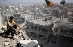 العدوان الصهيوني على قطاع غزة في أرقام.