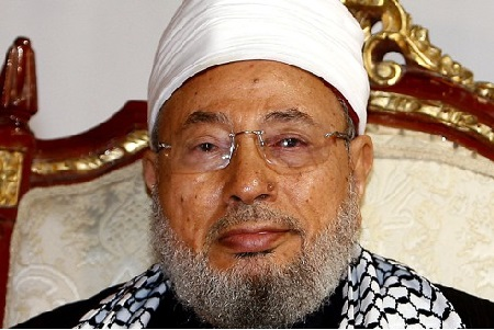 الشيخ يوسف القرضاوي والقضية الفلسطينية أ.عبدالقادر قلاتي