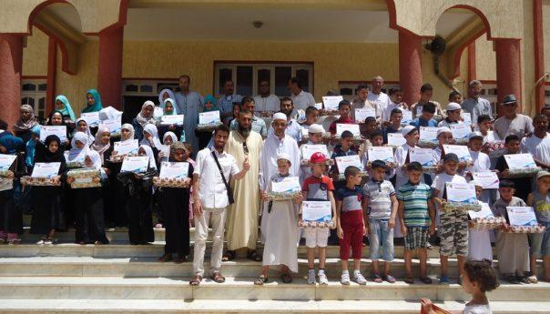 شعبة جمعية العلماء المسلمين الجزائريين بولاية الشلف تحتفي بالفائزين من صغار حفظة القرآن الكريم
