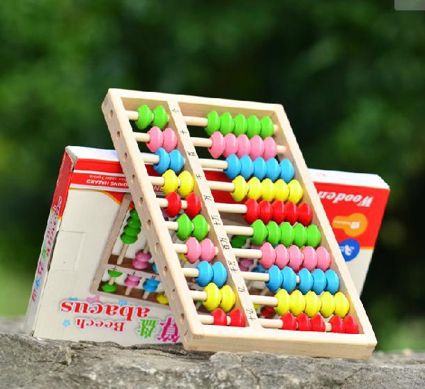 free-postage-sell-beech-font-b-abacus-b-font-children-colored-wooden-toy-mathematics-teaching-aids