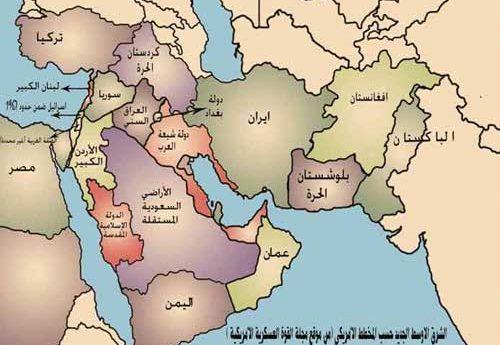 الشرق الاوسط: خطة التقسيم