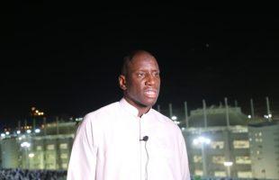 """اللاعب السنغالي """"ديمبا با"""" يدافع من الحجّ عن مسلمي الروهينغا.. هذه رسالته"""